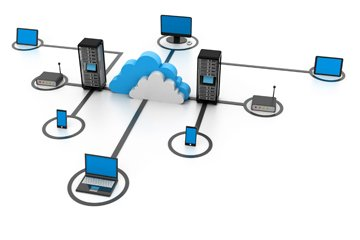 Connecting users, existing systems and Hitachi ID Identity and Access Management Suite servers on the network.